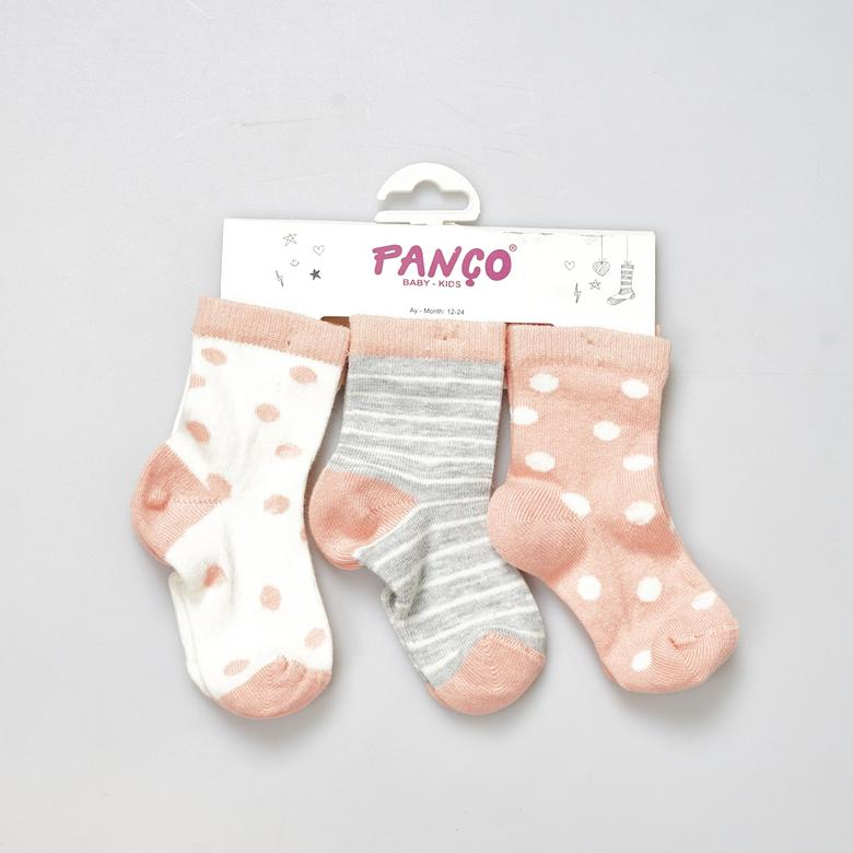Kız Bebek 3 lü Çorap 1713601194