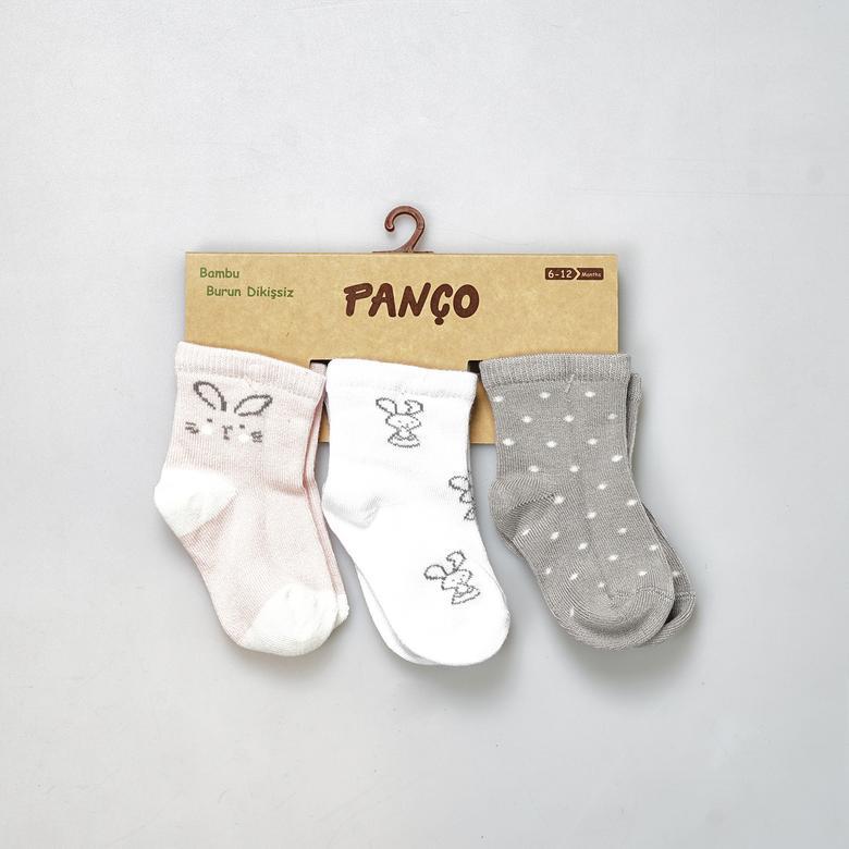Kız Bebek 3 lü Çorap 19136092108