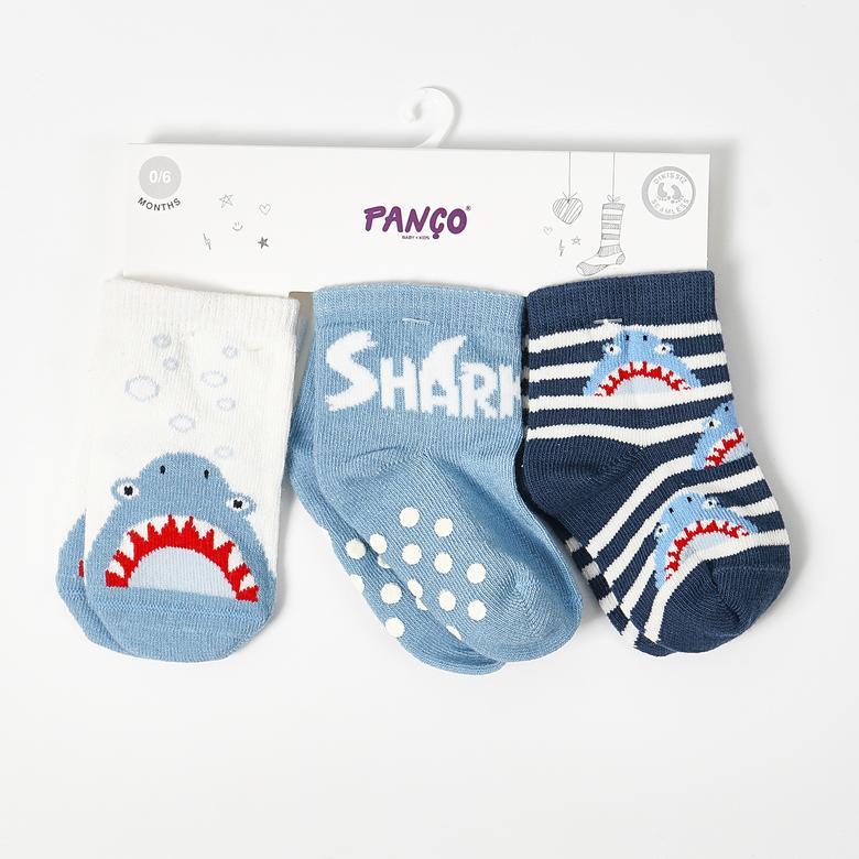 Erkek Bebek 3 lü Çorap 19136087108
