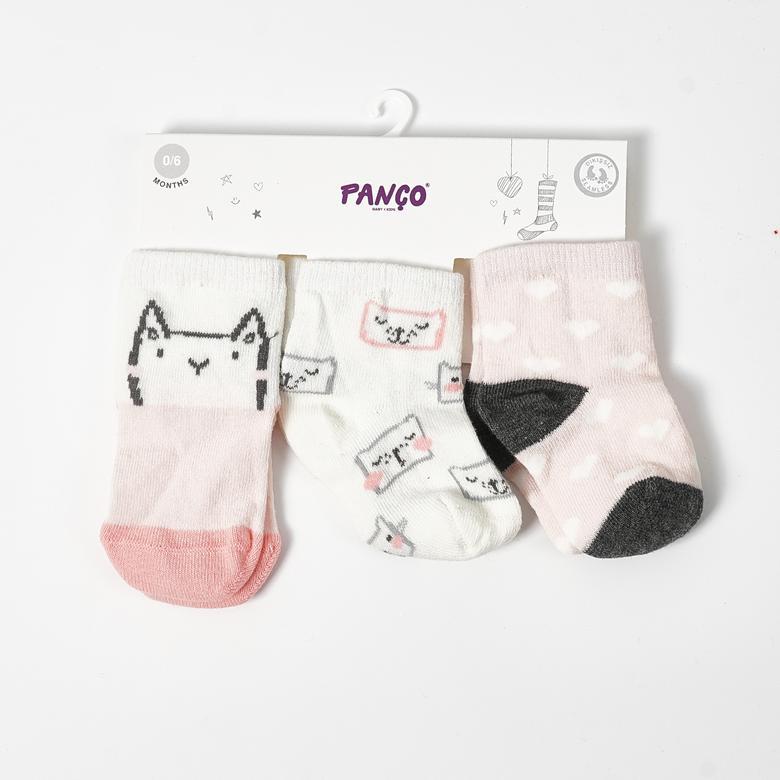 Kız Bebek 3 lü Çorap 19136078108