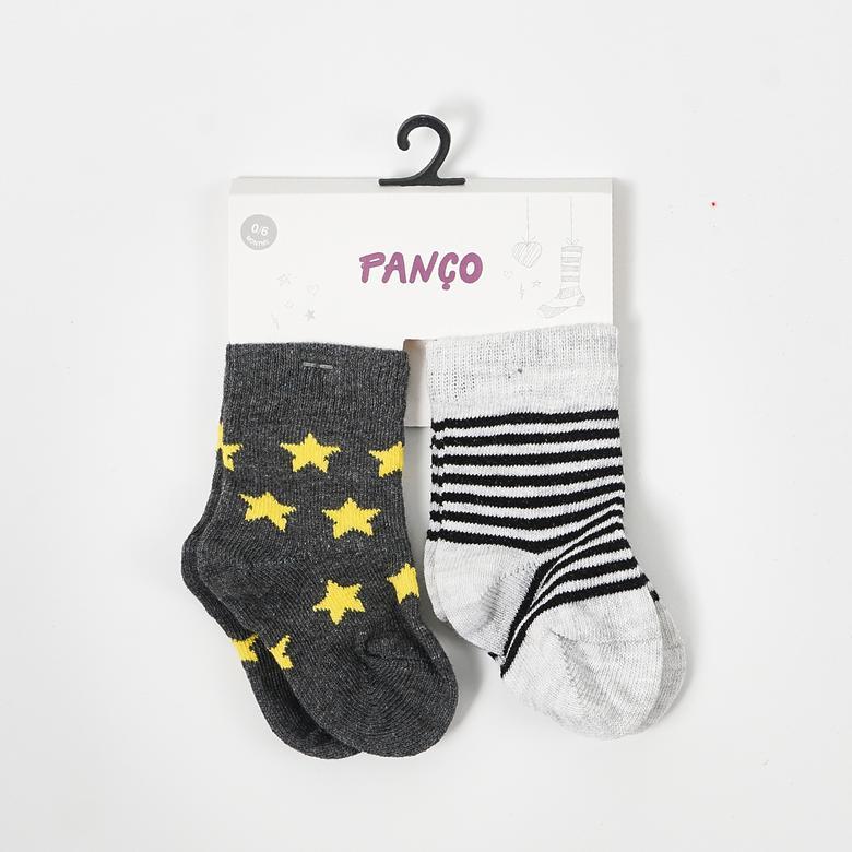 Erkek Bebek 2 li Çorap 19136099246