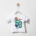 Erkek Bebek Kısa Kollu T-shirt 19217091100