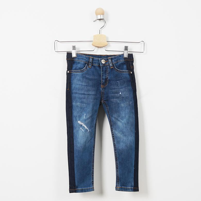 Kız Çocuk Denim Pantolon 19221021100