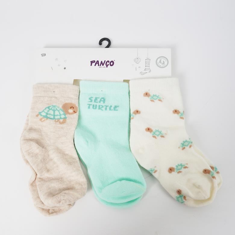 Erkek Bebek 3 lü Çorap 1813604108
