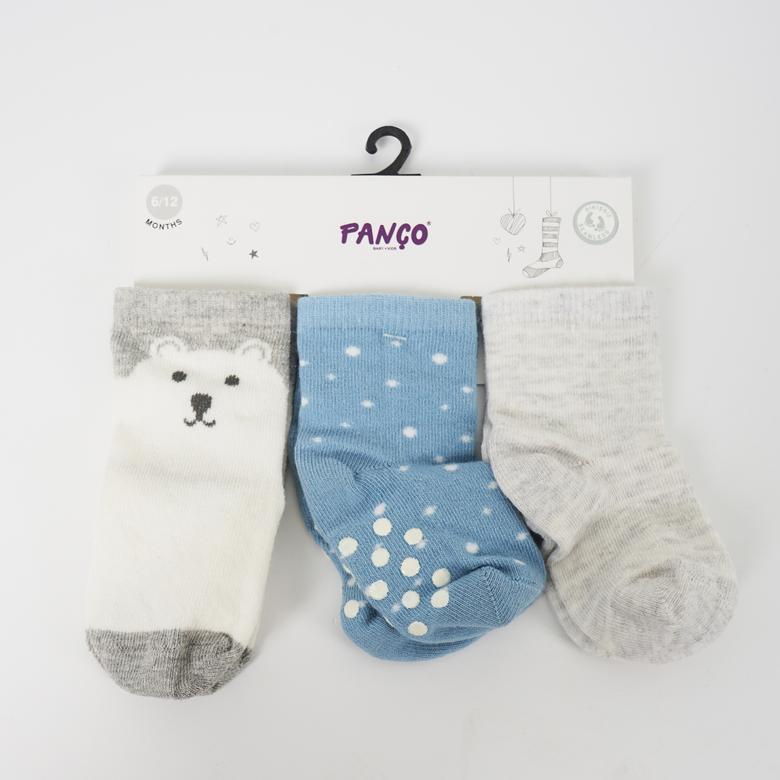 Erkek Bebek 3 lü Çorap 18236001108