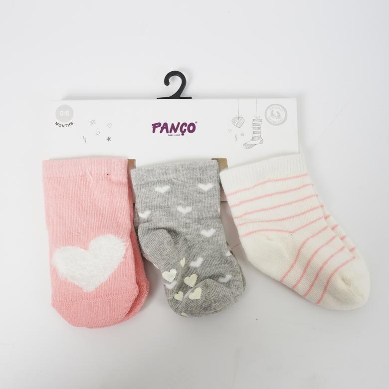 Kız Bebek 3 lü Çorap 18236018108