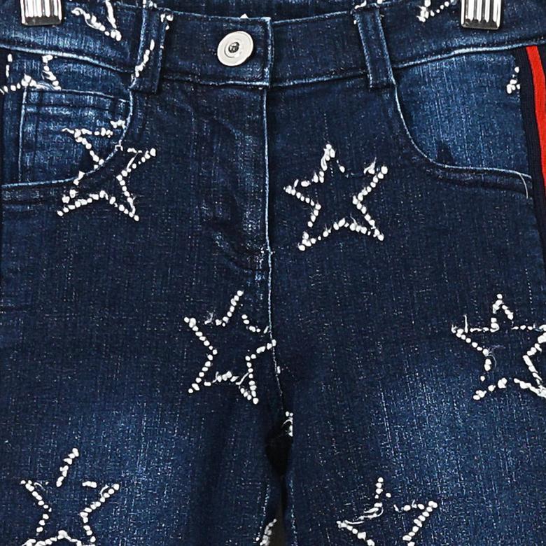 Kız Çocuk Denim Pantolon 19221002100