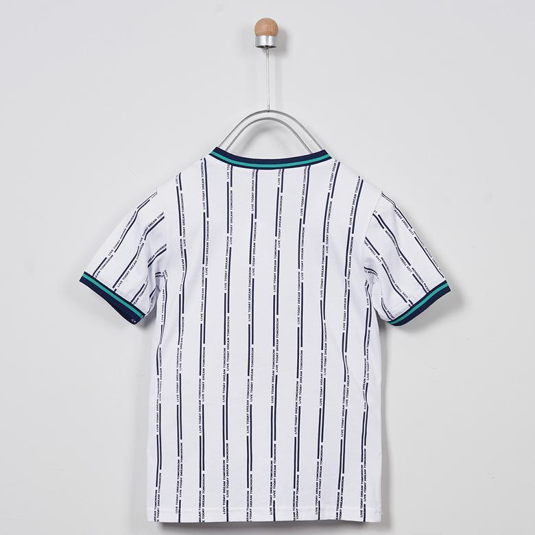 V Yaka T-Shirt 2011BK05003