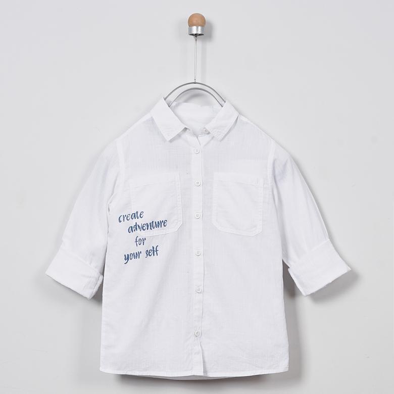 Uzun Kollu Gömlek 2011BK06002