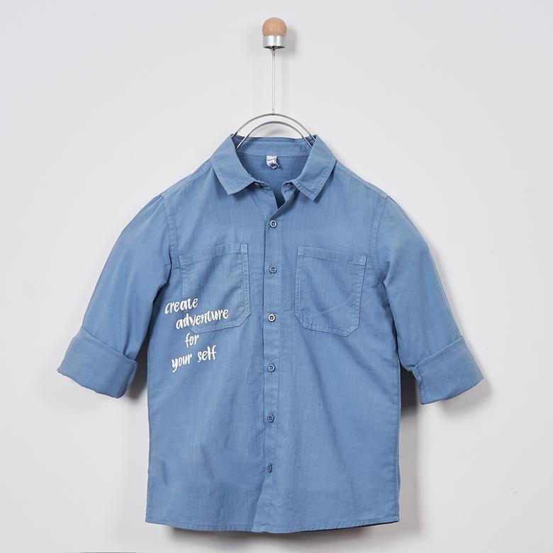 Erkek Çocuk Uzun Kollu Gömlek 2011BK06002