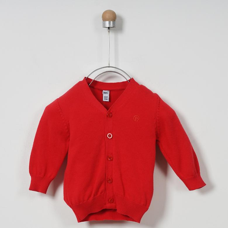 Erkek Bebek Basic Triko Hırka 1720986100