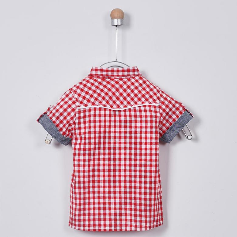 Erkek Çocuk Kısa Kollu Gömlek 1711250100