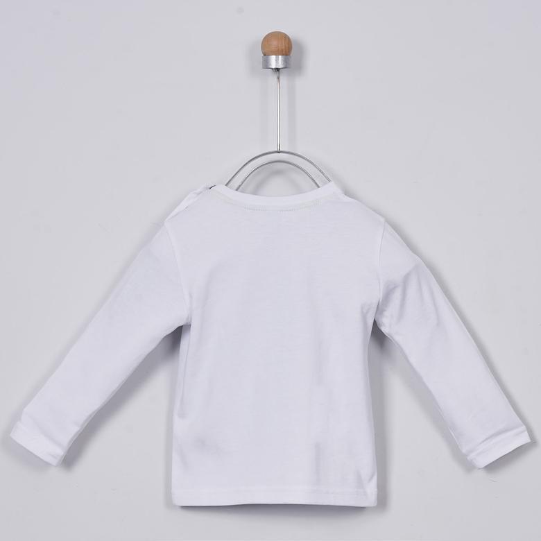Erkek Bebek Uzun Kollu T-shirt 2011BB05001