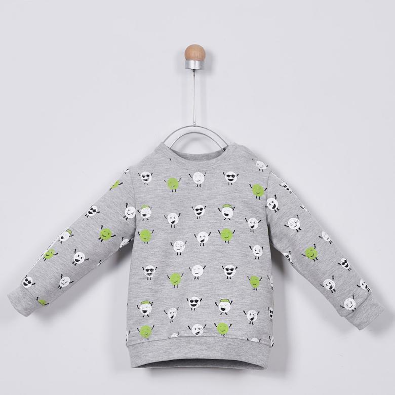 Erkek Bebek Sweatshirt 2011BB08001