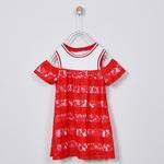 Kız Çocuk Örme Elbise 2011GK26051