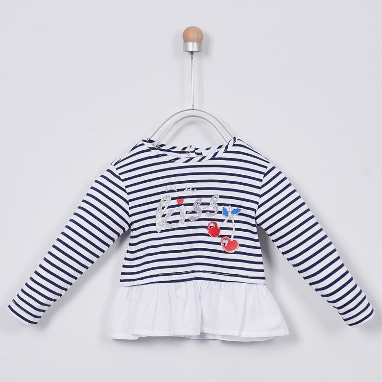 Kız Bebek Uzun Kollu T-shirt 2011GB05001