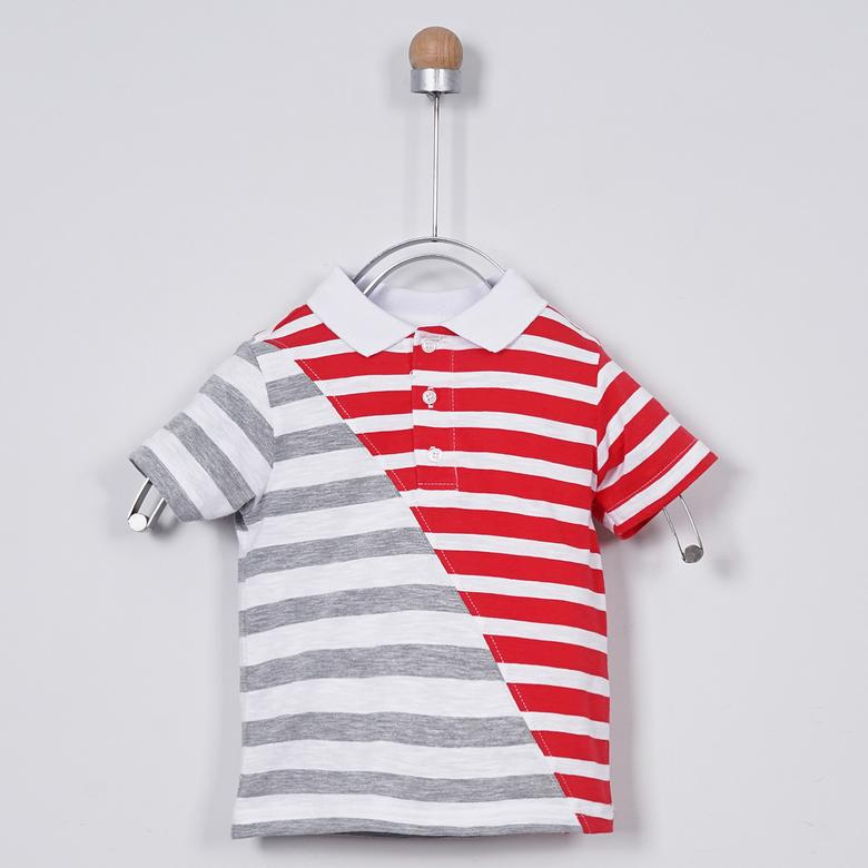 Erkek Bebek Yakalı T-Shirt 2011BB05016