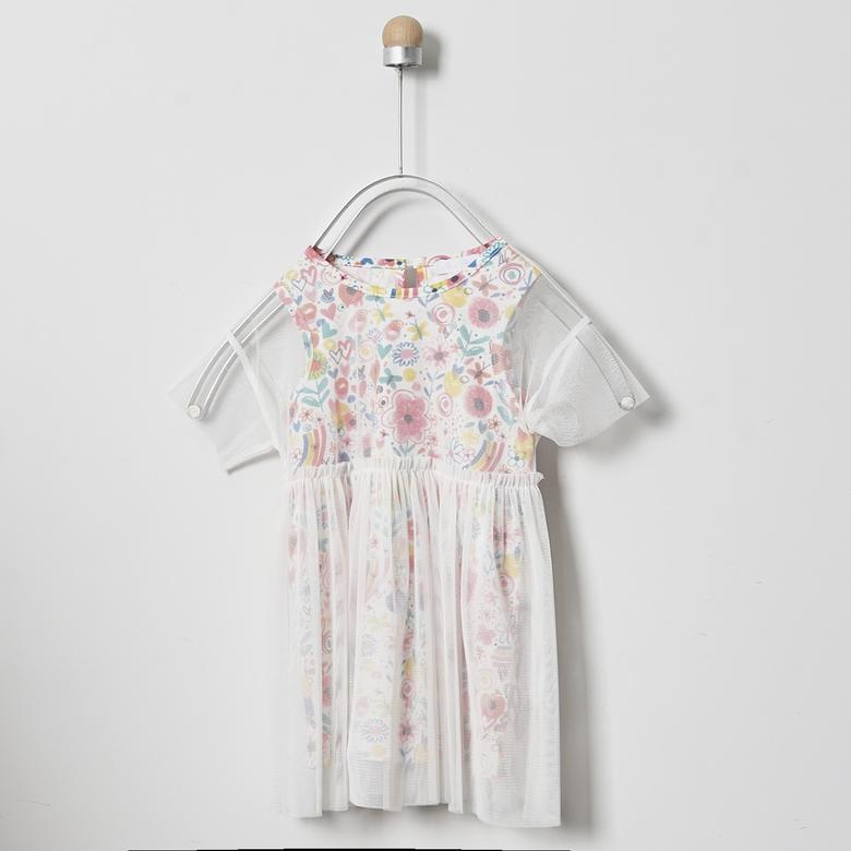 Kız Bebek Örme Elbise 2011GB26030