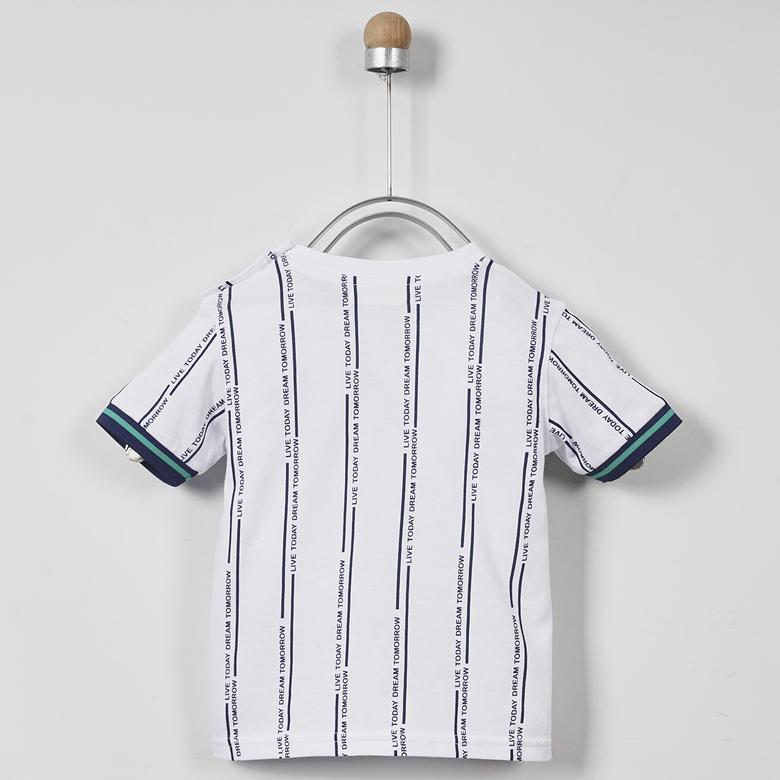 Erkek Bebek V Yaka T-Shirt 2011BB05040
