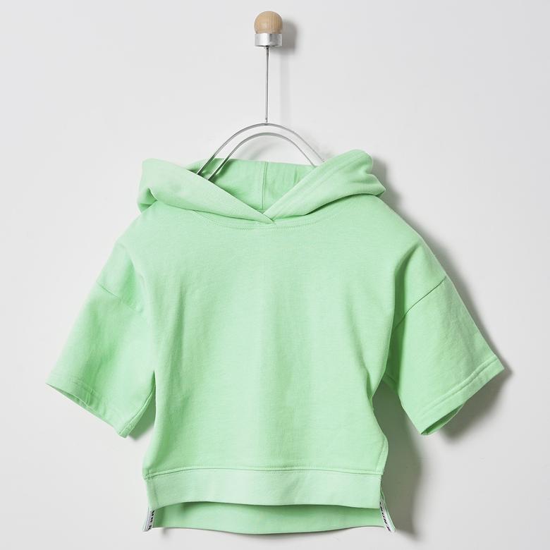 Kız Çocuk Kapşonlu Sweatshirt 2011GK08004