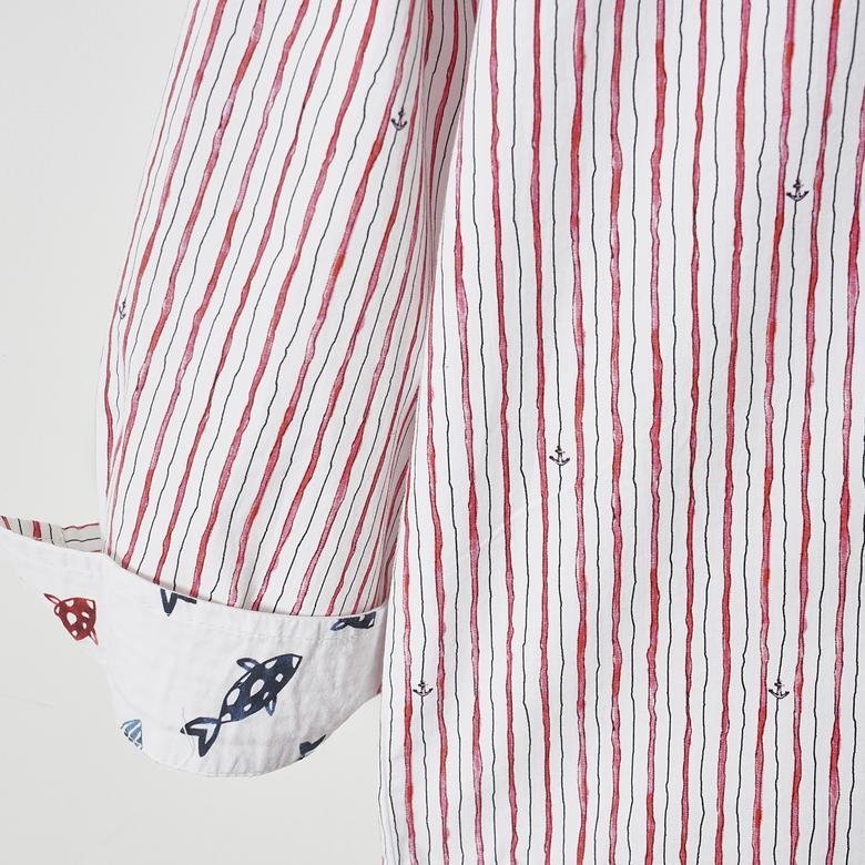 Erkek Çocuk Uzun Kollu Gömlek 2011BK06005