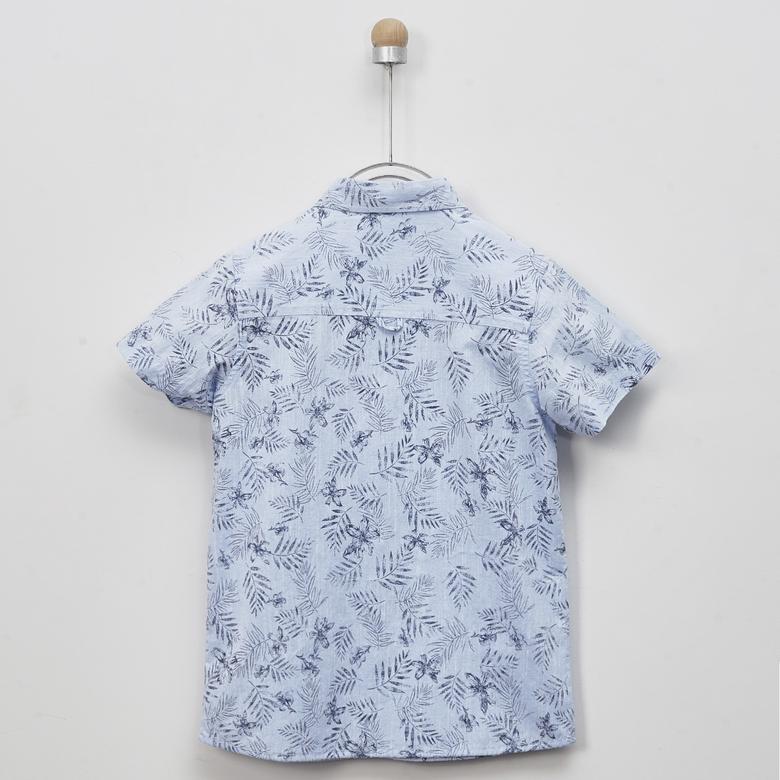 Erkek Çocuk Kısa Kollu Gömlek 2011BK06009
