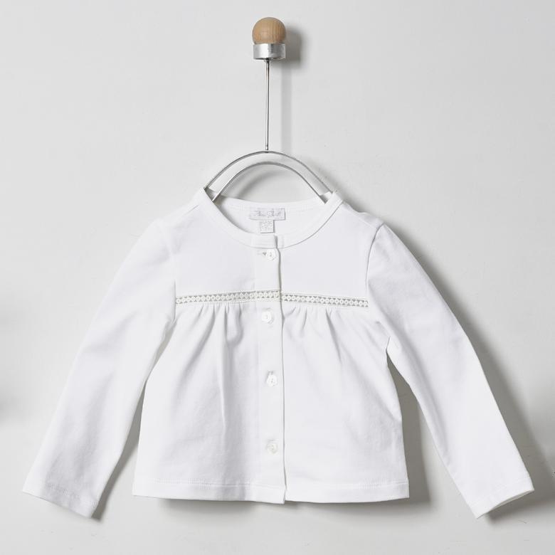 Kız Bebek Örme Ceket 2011GB22002
