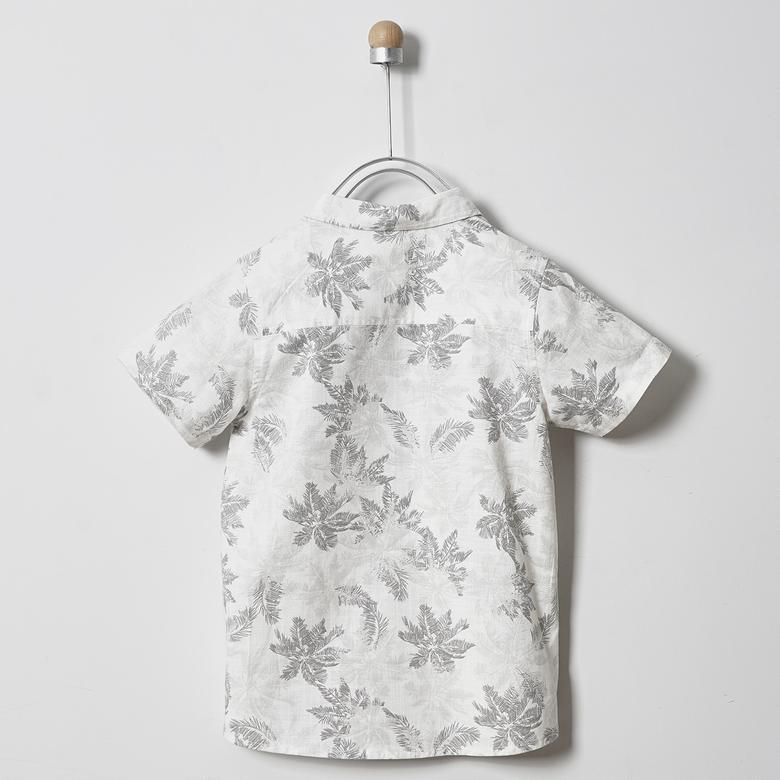 Erkek Çocuk Kısa Kollu Gömlek 2011BK06014