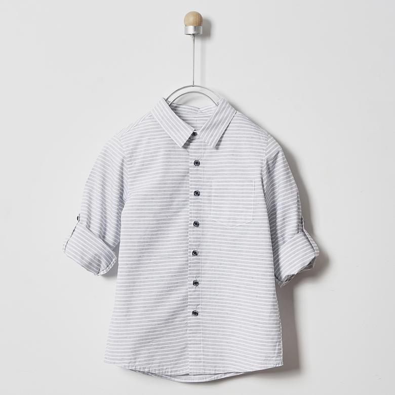Erkek Çocuk Uzun Kollu Gömlek 2011BK06015