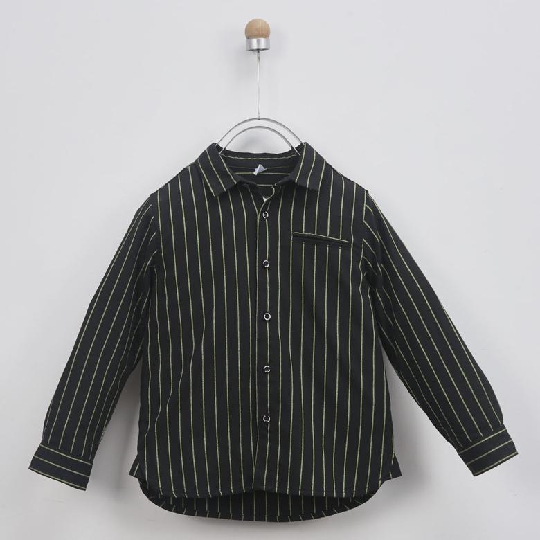 Erkek Çocuk Uzun Kollu Gömlek 2011BK06001