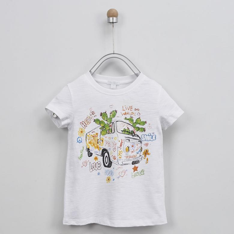 Kız Çocuk T-Shirt 2011GK05019