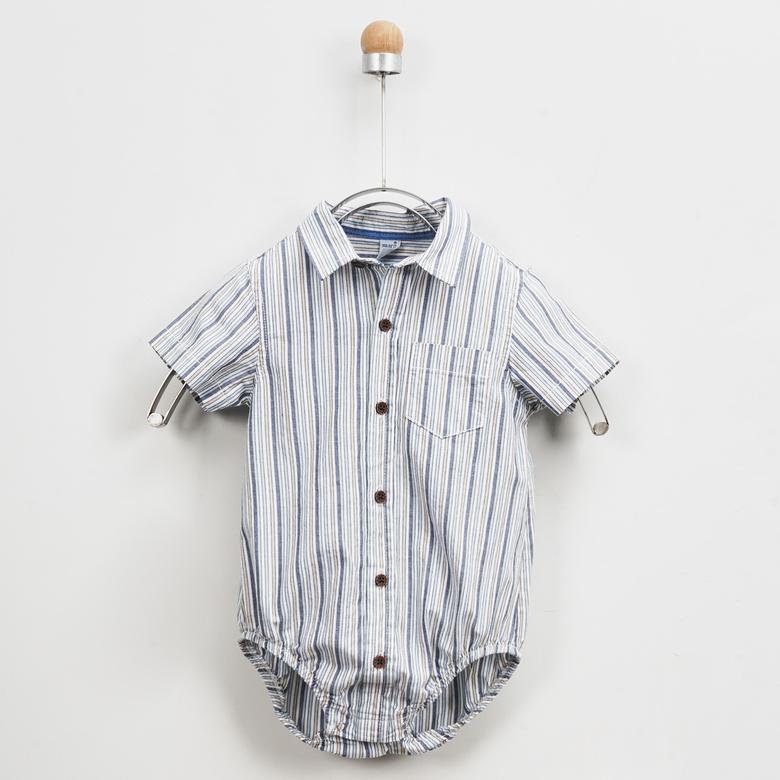 Erkek Bebek Body Gömlek 2011BB06008