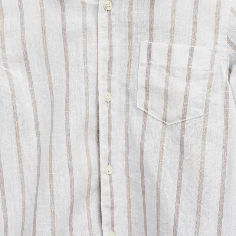 Erkek Bebek Uzun Kollu Gömlek 2011BB06015