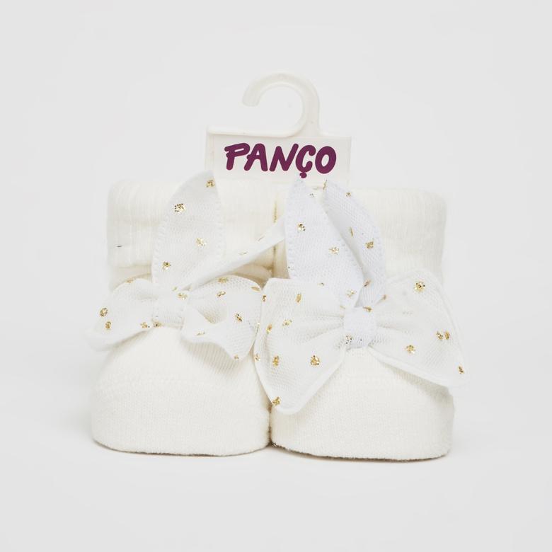 Kız Bebek Tekli Çorap 2012GB11004