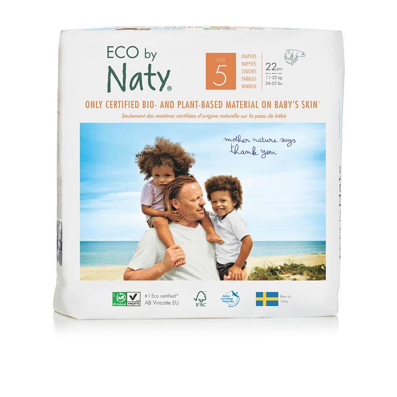 Eco by Naty Bebek Bezi - Junior (No: 5) (11-25 kg) - 22 adet 9932UB64007