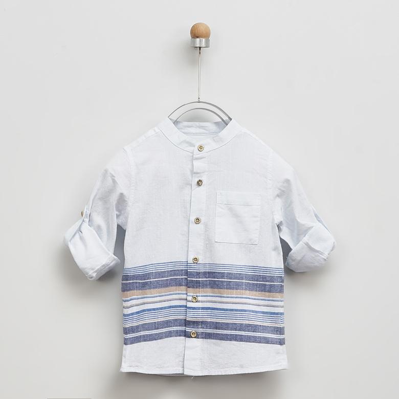 Erkek Çocuk Uzun Kollu Gömlek 2011BK06008