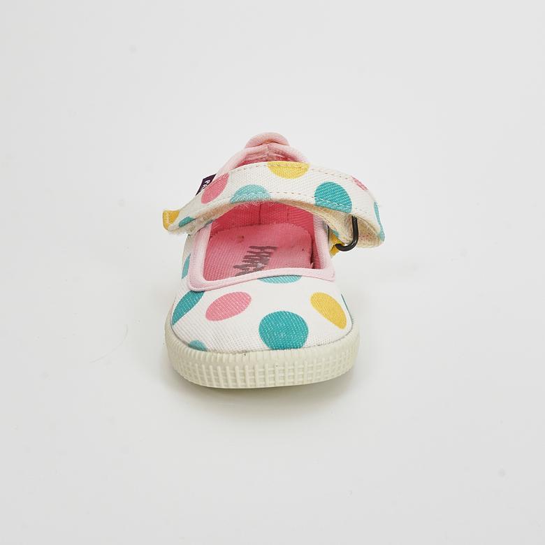 Kız Bebek Keten Ayakkabı 1714201135