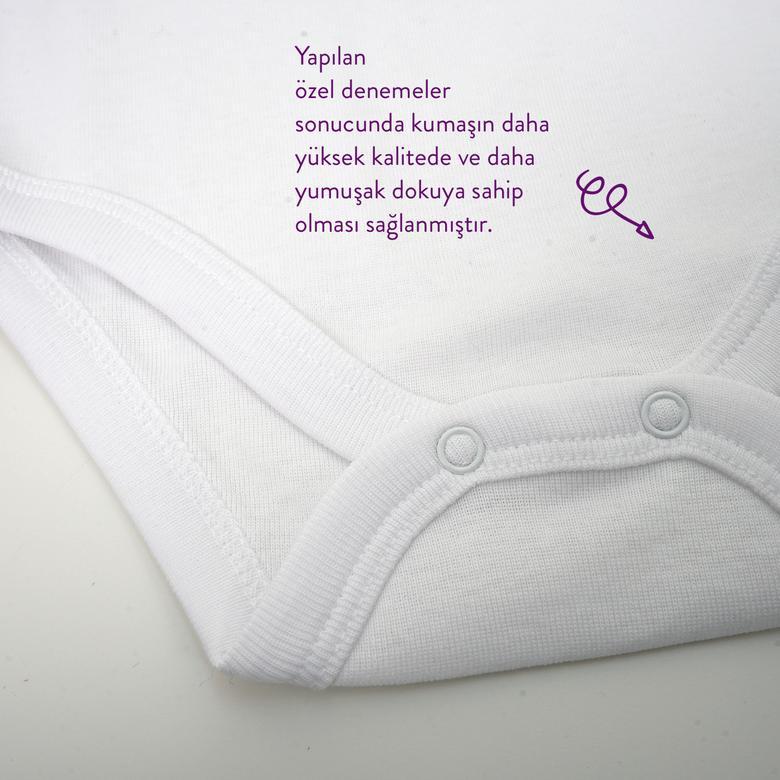 Yenidoğan 3'lü Kısa Kollu Body Set 9941UN20003