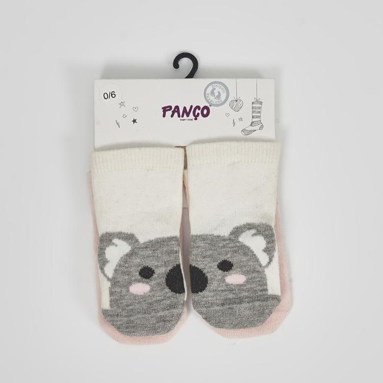 Kız Bebek 2 li Çorap 1723622108