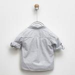 Erkek Bebek Uzun Kollu Gömlek 2011BB06013