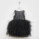 Kız Çocuk Deri Elbise 2021GK26040