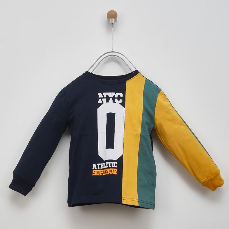 Erkek Çocuk Uzun Kollu T-shirt 2021BK05008