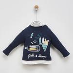 Erkek Bebek Uzun Kollu T-shirt 2021BB05010
