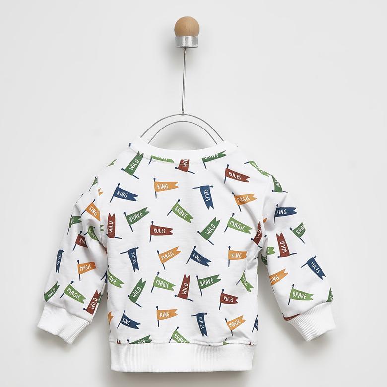 Erkek Bebek Sweatshirt 2021BB08003