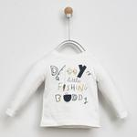Erkek Bebek Uzun Kollu T-shirt 2021BB05020