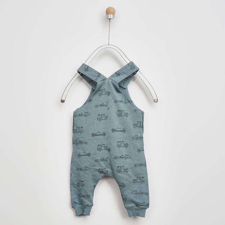 Erkek Bebek Örme Salopet 2021BB24007