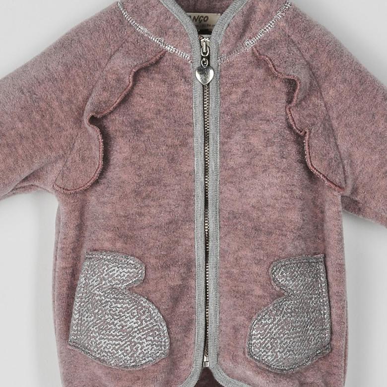 Kız Bebek Örme Ceket 2021GB22002