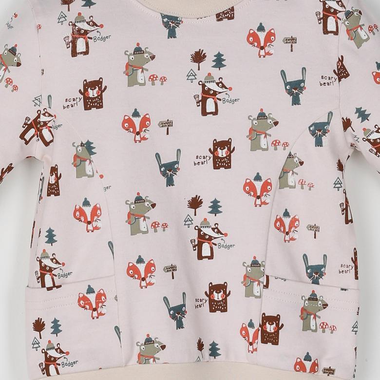 Erkek Bebek Sweatshirt 2021BB08011