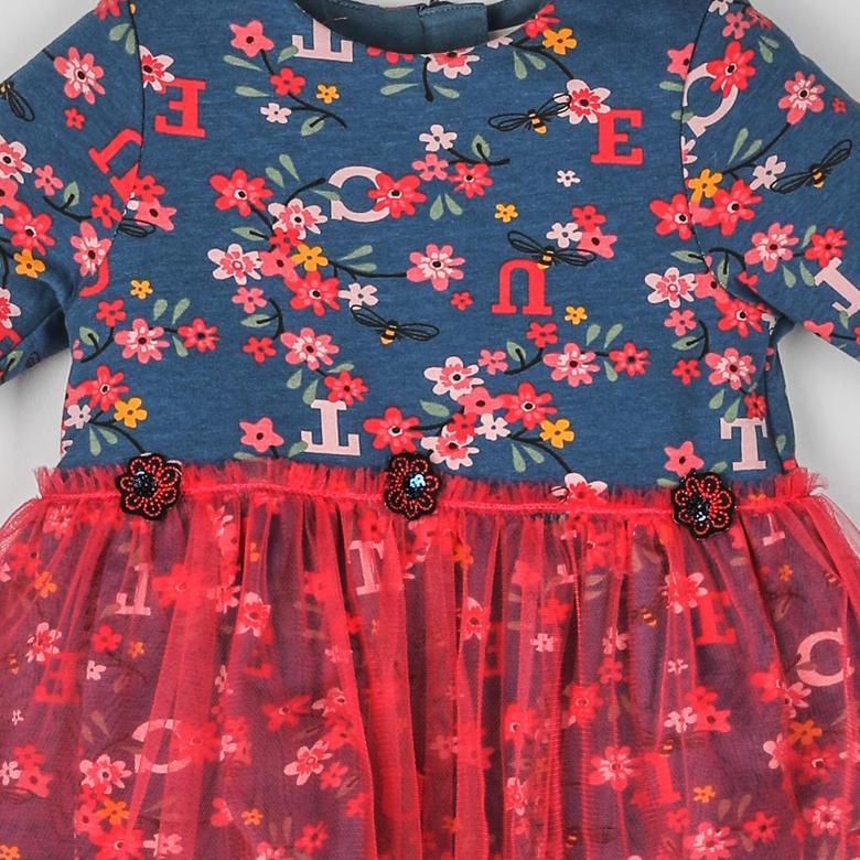 Kız Bebek Örme Elbise 2021GB26013