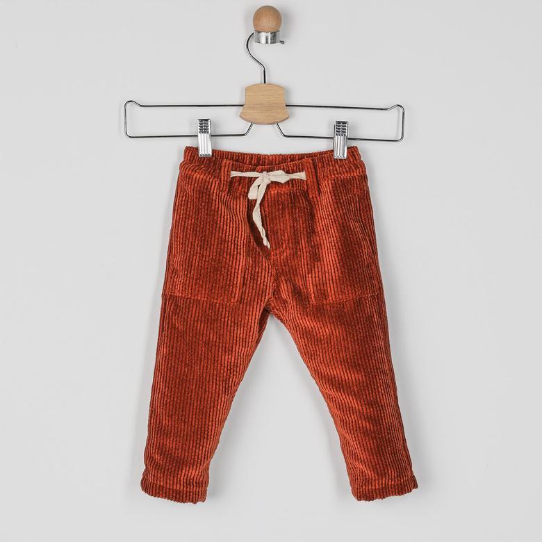 Erkek Bebek Kadife Pantolon 2021BB04021